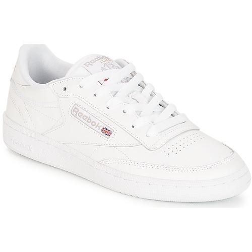 Zapatos promocionales Reebok Classic CLUB C 85 Blanco  Casual salvaje