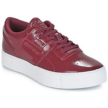 Zapatos Mujer Zapatillas bajas Reebok Classic WORKOUT LO FVS Burdeo