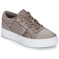 Zapatos Mujer Zapatillas bajas Reebok Classic WORKOUT LO FVS TXT Gris