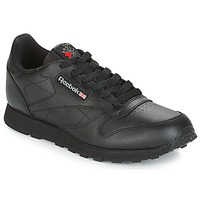 Zapatos Niños Zapatillas bajas Reebok Classic CLASSIC LEATHER J Negro
