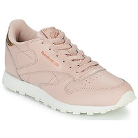 Zapatos Niña Zapatillas bajas Reebok Classic CLASSIC LEATHER J Rosa