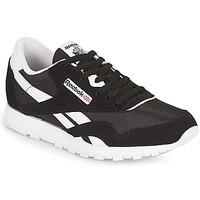 Zapatos Niños Zapatillas bajas Reebok Classic CLASSIC NYLON J Negro / Blanco