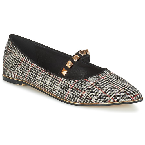 Mujer Bailarinas NegroRojo Zapatos Doumier manoletinas Menbur dCrtQsh
