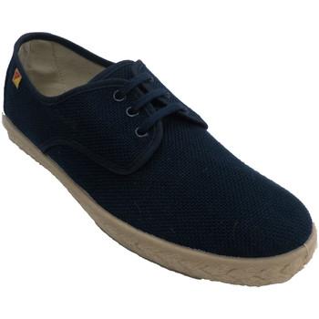 Zapatos Hombre Zapatillas bajas Made In Spain 1940 Zapatilla hombre cordones plantilla cáña azul