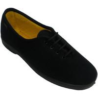 Zapatos Mujer Zapatillas bajas Doctor Cutillas Zapatilla cordones mujer persona mayor negro