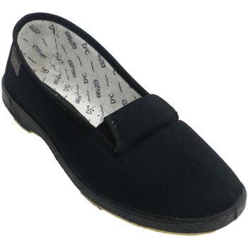 Zapatos Mujer Slip on Doctor Cutillas Zapatilla venano mujer gomas a los lados negro