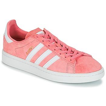 Zapatos Mujer Zapatillas bajas adidas Originals CAMPUS W Rosa