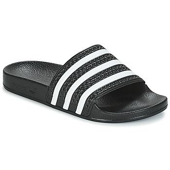 Zapatos Chanclas adidas Originals ADILETTE Negro / Blanco