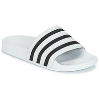 Zapatos Chanclas adidas Originals ADILETTE Blanco / Negro