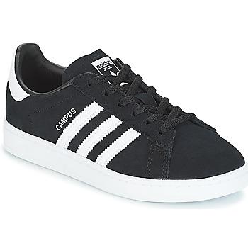 Zapatos Niños Zapatillas bajas adidas Originals CAMPUS C Negro