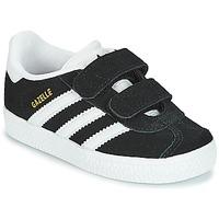 Zapatos Niños Zapatillas bajas adidas Originals GAZELLE CF I Negro