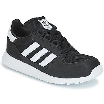 Zapatos Niños Zapatillas bajas adidas Originals OREGON C Negro