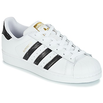 Zapatos Zapatillas bajas adidas Originals SUPERSTAR Blanco / Negro