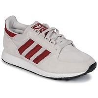 Zapatos Zapatillas bajas adidas Originals OREGON Beige / Rojo