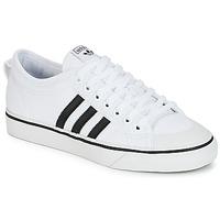 Zapatos Zapatillas bajas adidas Originals NIZZA Blanco / Negro
