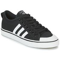 Zapatos Zapatillas bajas adidas Originals NIZZA Negro / Blanco