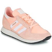 Zapatos Mujer Zapatillas bajas adidas Originals OREGON W Rosa