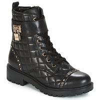 Zapatos Mujer Botas de caña baja Guess HOLDY Negro