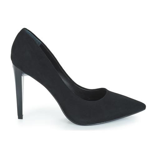 De Tacón Obella Mujer Zapatos Guess Negro 29WHEID