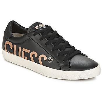 Zapatos Hombre Zapatillas bajas Guess RYAN Negro