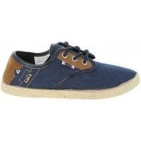 Zapatos Niños Alpargatas Lois Jeans 60063 Azul