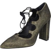 Zapatos Mujer Zapatos de tacón Islo de salón dorado glitter BZ215 dorado