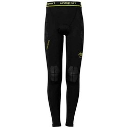 textil Hombre leggings Uhlsport Bionikframe Black-Fluor yellow