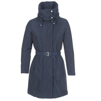 textil Mujer parkas Geox KENLY Azul