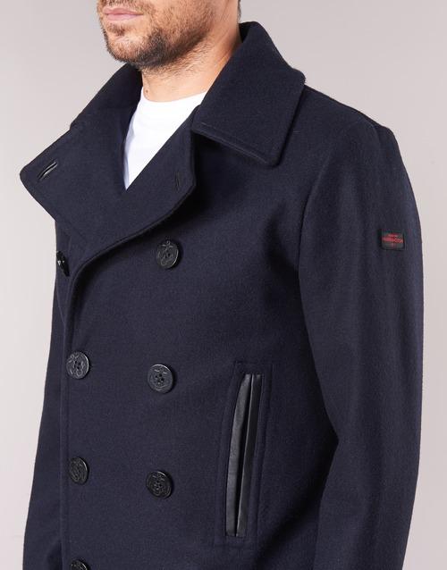 Abrigos Pcoat Hombre Harrington Textil Marino v8yNmwn0O