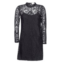 textil Mujer vestidos cortos Molly Bracken ZEDEL Negro