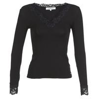 textil Mujer Camisetas manga larga Morgan TRACY Negro