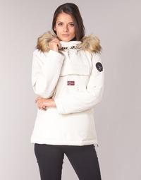 textil Mujer parkas Napapijri SKIDOO Blanco