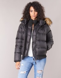textil Mujer plumas Schott MAYDAY Negro