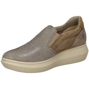 Zapatos Mujer Slip on Enval D PM 12707 Beige