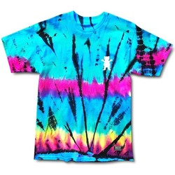 textil camisetas manga corta Grizzly Camiseta  Above The Clouds Tie Dye multicolor