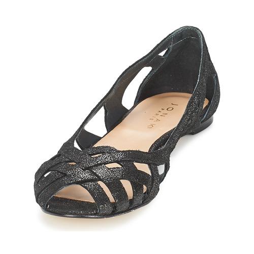 Zapatos casuales salvajes Zapatos especiales Jonak DERAY Negro