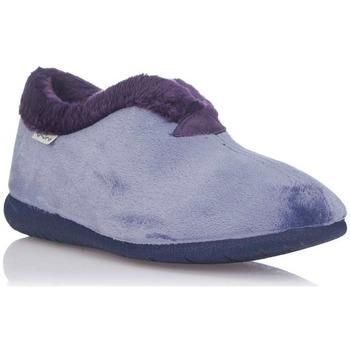 Zapatos Mujer Pantuflas Muro 9604 Azul