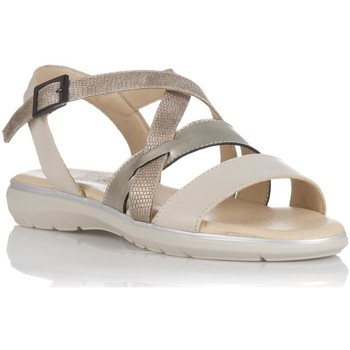 Zapatos Mujer Sandalias Relax 4 You BS171905 Beige