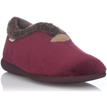Zapatos Mujer Pantuflas Muro 9604 Rojo