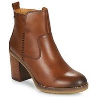 Zapatos Mujer Botines Pikolinos POMPEYA W9T Camel