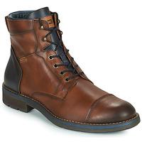 Zapatos Hombre Botas de caña baja Pikolinos YORK M2M Marrón / Marino