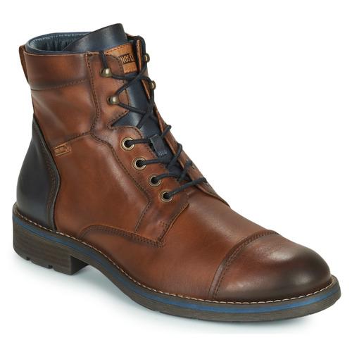 Zapatos especiales para hombres y mujeres Pikolinos YORK M2M Marrón / Marino