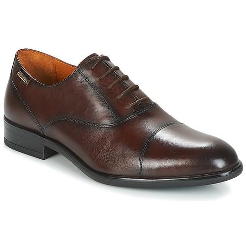 Zapatos especiales para hombres y mujeres Pikolinos BRISTOL M7J Marrón