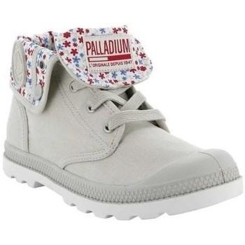 Zapatos Hombre Botas de caña baja Palladium Manufacture BOTA BAGGY LOW LP F Blanco