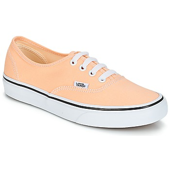 Zapatos Mujer Zapatillas bajas Vans AUTHENTIC Beige