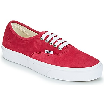 Zapatos Mujer Zapatillas bajas Vans AUTHENTIC Rojo
