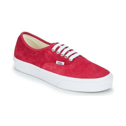 Zapatos de mujer baratos zapatos de mujer Vans AUTHENTIC Rojo - Envío gratis Nueva promoción - Zapatos Deportivas bajas   Rojo