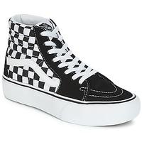 Zapatos Mujer Zapatillas altas Vans SK8-HI PLATFORM 2.1 Negro / Blanco