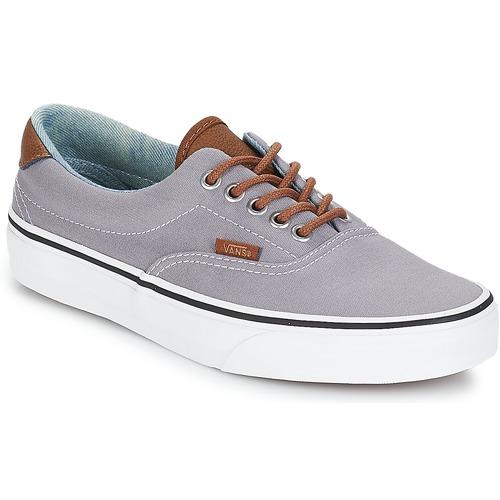 Zapatos especiales para hombres y mujeres Vans ERA 59 Gris