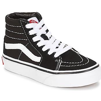 Zapatos Niños Zapatillas altas Vans UY SK8-HI Negro / Blanco